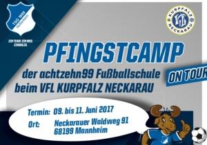 """achtzehn99 Fußballschule """"on tour"""" beim VfL Kurpfalz Neckarau"""