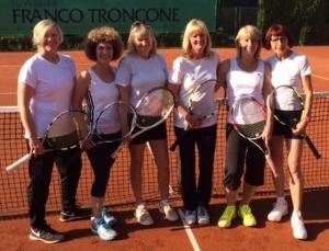 Aufstieg Damen 40 Tennis